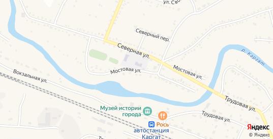 Мостовая улица в Каргате с номерами домов на карте. Спутник и схема онлайн