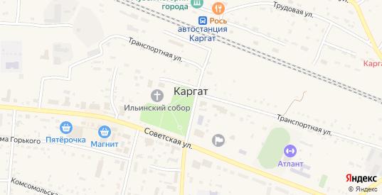 Поселок Нефтебазы в Каргате с номерами домов на карте. Спутник и схема онлайн