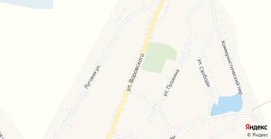 Улица Воровского в Каргате с номерами домов на карте. Спутник и схема онлайн