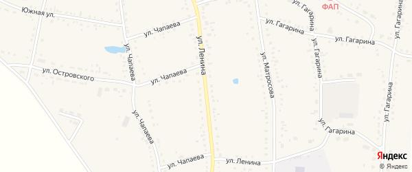 Улица Ленина на карте Каргата с номерами домов