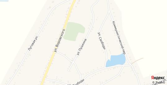 Улица Пушкина в Каргате с номерами домов на карте. Спутник и схема онлайн