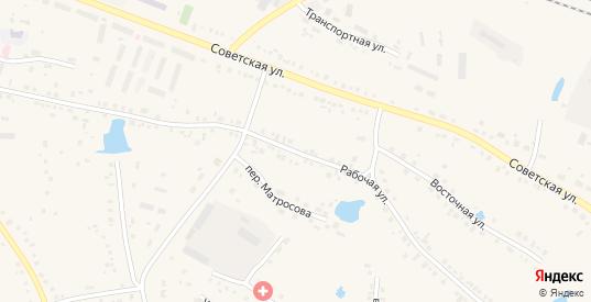 Рабочая улица в Каргате с номерами домов на карте. Спутник и схема онлайн