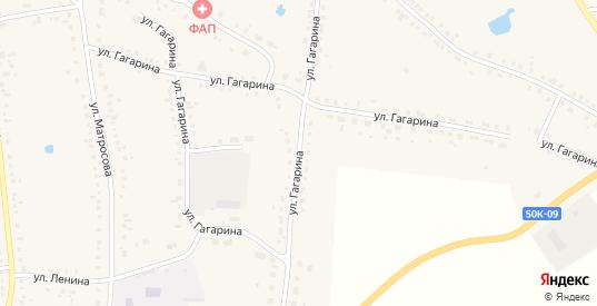 Улица Гагарина в Каргате с номерами домов на карте. Спутник и схема онлайн
