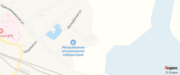 Улица Гоголя на карте Каргата с номерами домов