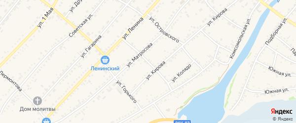 Улица Колядо на карте села Волчихи Алтайского края с номерами домов