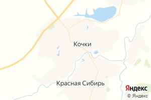 Карта с. Кочки