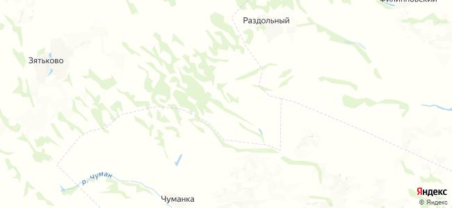 Ганенок на карте
