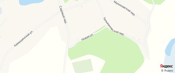 Новая улица на карте Глубокого села Алтайского края с номерами домов