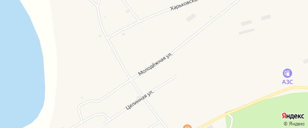 Молодёжная улица на карте Глубокого села Алтайского края с номерами домов
