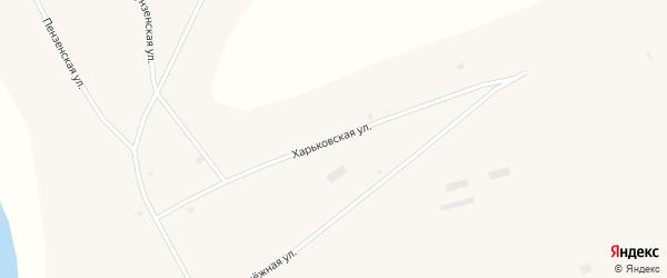 Харьковская улица на карте Глубокого села Алтайского края с номерами домов