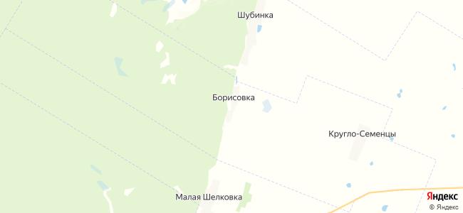Борисовка на карте