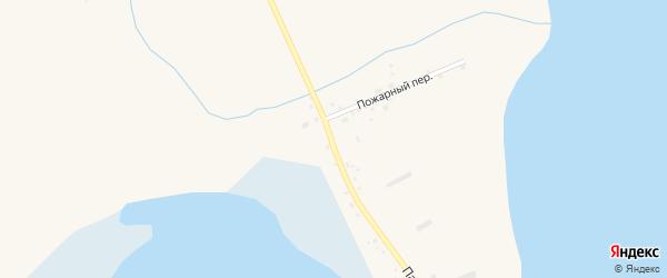 Партизанская улица на карте Волчна-Бурлинского села с номерами домов