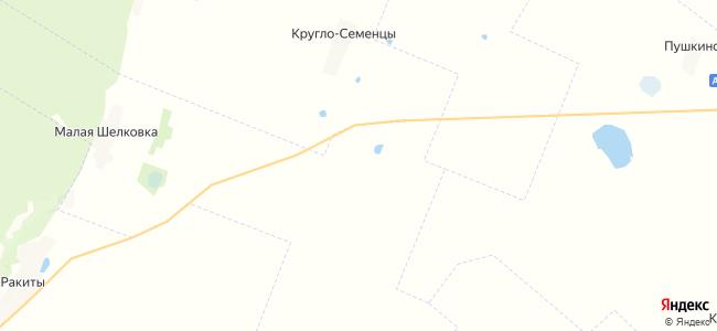 Долино на карте