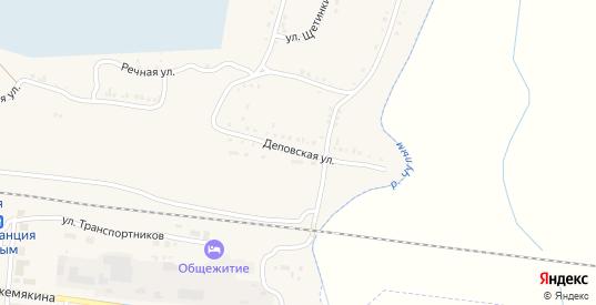 Деповская улица в Чулыме с номерами домов на карте. Спутник и схема онлайн