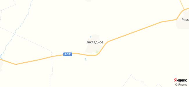 Закладное на карте