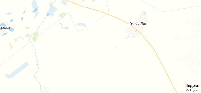 Журавли на карте