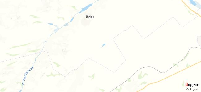 Новодубровский на карте