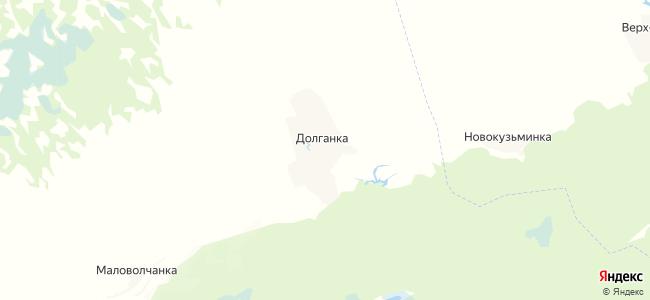 Долганка на карте