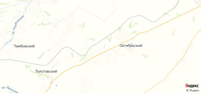 Новодубровский ХПП на карте