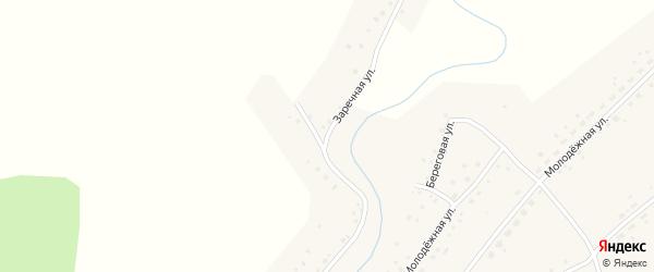 Заречная улица на карте села Корнилово с номерами домов