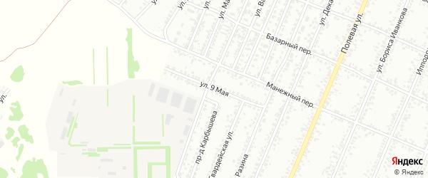 9 Мая улица на карте Рубцовска с номерами домов