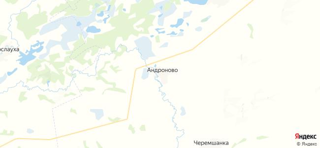 Андроново на карте