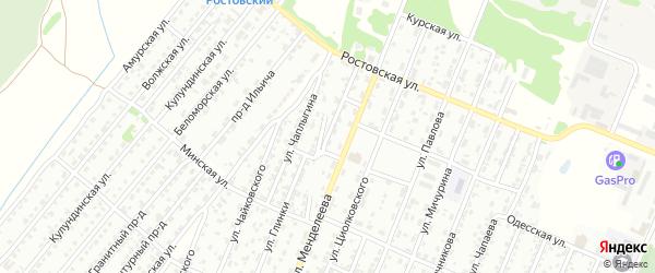 Улица Болотникова на карте Рубцовска с номерами домов