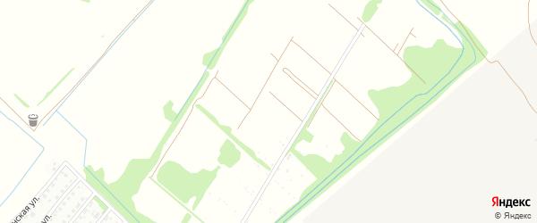 Земляничная улица на карте садового некоммерческого товарищества N 9 с номерами домов