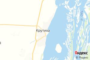 Карта с. Крутиха Алтайский край
