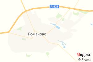Карта с. Романово Алтайский край