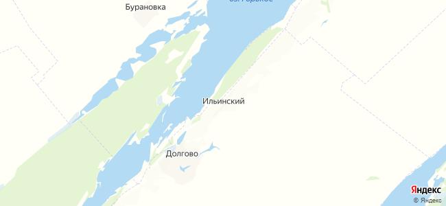 Ильинский на карте