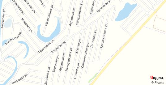 Степная улица в Рубцовске с номерами домов на карте. Спутник и схема онлайн