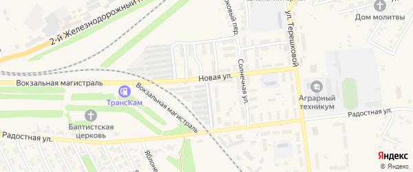 Стройотрядовская улица на карте Камень-на-Оби с номерами домов