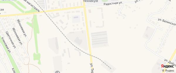 Улица Терешковой на карте Камень-на-Оби с номерами домов