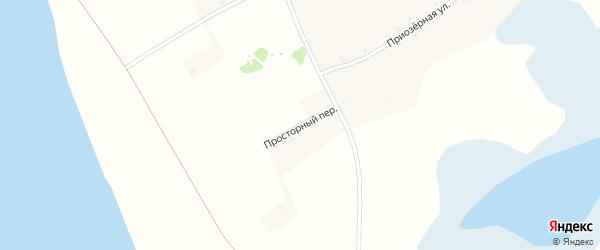 Просторный переулок на карте села Дресвянки с номерами домов