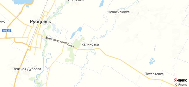 Калиновка на карте