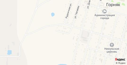Геологический переулок в Горняке с номерами домов на карте. Спутник и схема онлайн