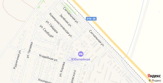 Улица Чкалова в Горняке с номерами домов на карте. Спутник и схема онлайн