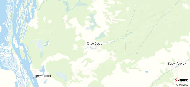 Столбово на карте