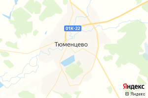 Карта с. Тюменцево Алтайский край
