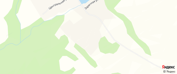 Карта села Верха-Аллака в Алтайском крае с улицами и номерами домов