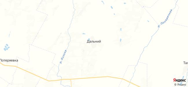 Дальний на карте