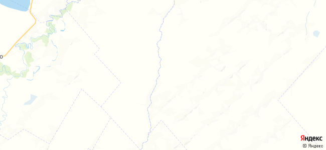 Благодатный на карте
