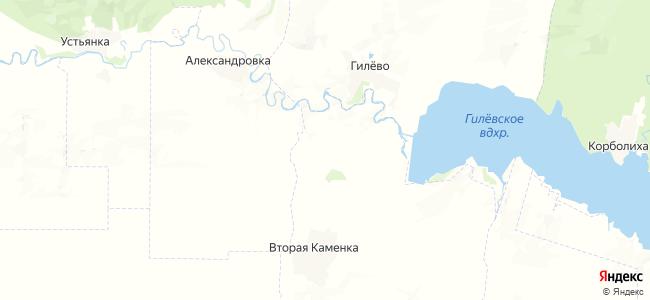 Междуречье на карте
