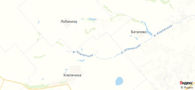 Березовка на карте