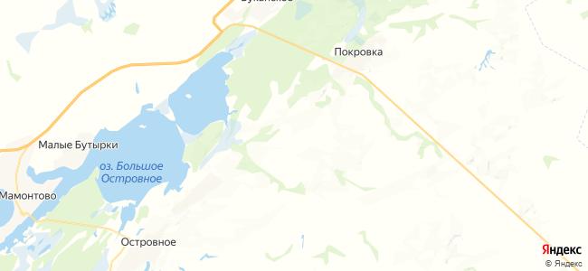 Борково на карте