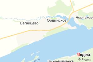 Карта пгт Ордынское Новосибирская область