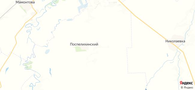 Степно-Бугринский на карте