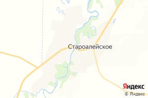 Карта с. Староалейское