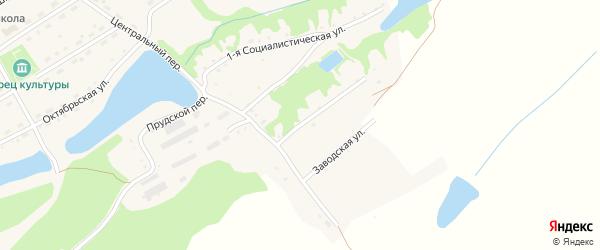 2-я Социалистическая улица на карте села Родино с номерами домов